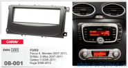 Carav 08-001 (1-DIN  FORD Focus II, Mondeo, S-Max, C-Max 2007-2011; Galaxy II 2006-2011; Kuga 2008-2012)