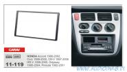 Carav 11-119 (2-DIN Honda Accord 1990-2002; Civic 1999-2000; CR-V 1997-2006; H-RV 1998-2005; Odyssey